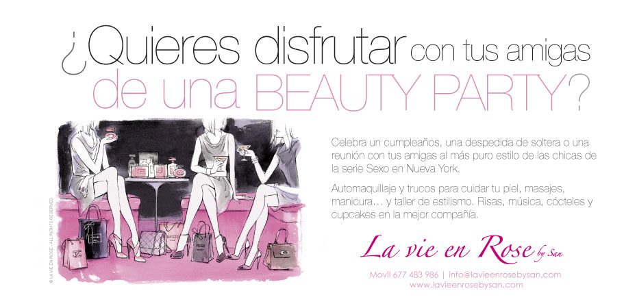 BONO REGALO BEAUTY PARTY